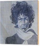 Bob Dylan In The Rock Years Wood Print