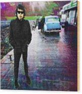 Bob Dylan No Direction Home 1 Wood Print