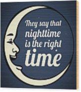 Bob Dylan Song Lyrics Quotes Art Typography Wood Print