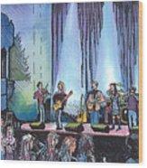 Bob Dylan Tribute Show Wood Print