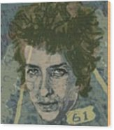Bob Dylan's Highway 61 Wood Print
