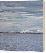 Bob Sikes Bridge Wood Print