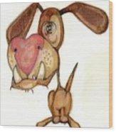 Bobblehead No 39 Wood Print