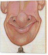 Bobblehead No 72 Wood Print