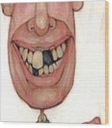 Bobblehead No 77 Wood Print