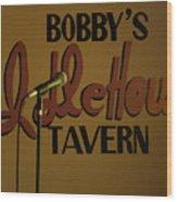 Bobby's Idle Hour Wood Print