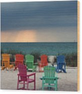 Boca Grande Wood Print