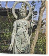 Boddhisattva Buddhist Deity - Kyoto Japan Wood Print
