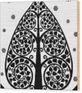 Bodhi Tree_v-7 Wood Print