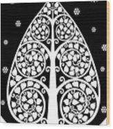 Bodhi Tree_v-8 Wood Print