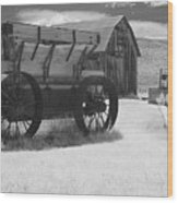 Bodie Ca - Praise The Lord And Pass The Ammunition Wood Print by Christine Till