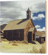 Bodie Church II Wood Print