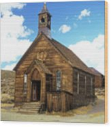 Bodie Church IIi Wood Print