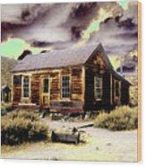 Bodie House Wood Print