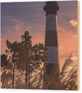 Bodie Island Lighthouse 1 Wood Print