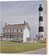 Bodie Lighthouse Nags Head Nc Wood Print