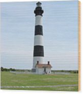 Bodie Lighthouse Nags Head Nc II Wood Print