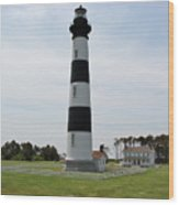 Bodie Lighthouse Nags Head Nc V Wood Print