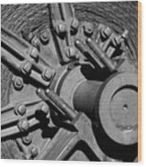 Bodie Mining Equipment Wood Print