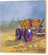 Bodie Ore Wagon Painted Wood Print