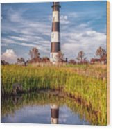 Bodie Reflection Wood Print