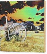 Bodie Wagon Wood Print