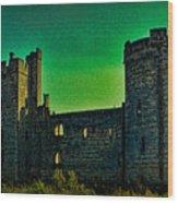 Bodium Castle Panorama Wood Print