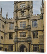 Bodleian Library Main Gate Wood Print