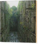 Bodmin Gaol Wood Print
