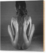 Body Of Art 20 Wood Print
