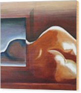 Bodyscape 1 Wood Print