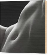 Bodyscape 18 Wood Print