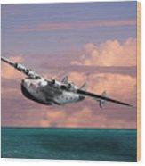Boeing 314 Clipper Wood Print