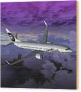 Boeing 737 Ng 001 Wood Print