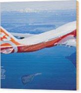 Boeing 747-8 Wood Print