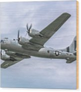 Boeing B-29 Superfortress Fifi In Flight Wood Print
