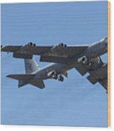 Boeing B-52 Stratofortress Wood Print