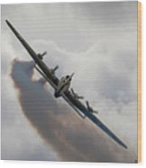 Boeing B17 Sally B Wood Print