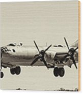 Boeing B29 Wood Print