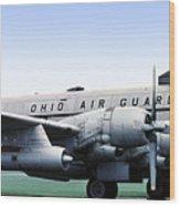 Boeing Kc-97l Stratotanker 22630, Dayton Ohio Wood Print