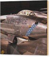 Boeing Rb 47h Plane Wood Print