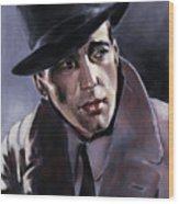 Bogart Wood Print