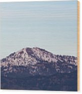 Bogus Basin Wood Print