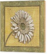 Bohemian Daisy 1 Wood Print