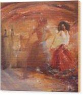 Sold Bohemian Wood Print