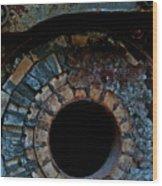 Boiler Wood Print