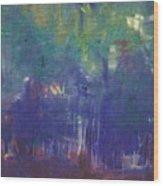 Bois De Boulogne Wood Print
