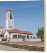 Boise Depot-elevation 2753 Wood Print