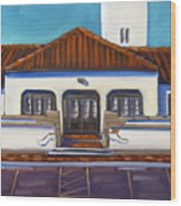 Boise Train Depot Wood Print