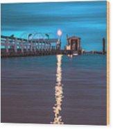 Bokeelia Pier Wood Print